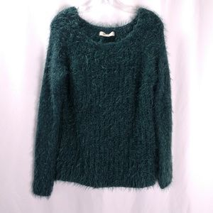 Lineamaglia Wool Blend Fuzzy Sweater Made in Italy